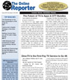 Online Reporter front page